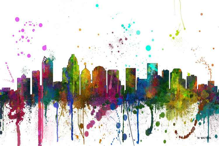 Charlotte NC Skyline MCLR1 -