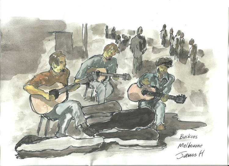 street buskers 3 - Image 0