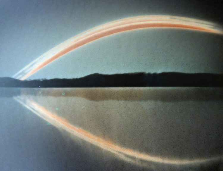 The Time Reflection (pinhole solar photograph)