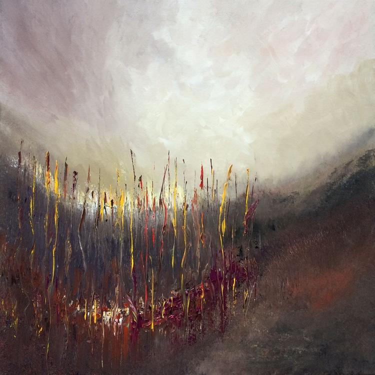 """Earth"" / Acrylic Painting 32x32x1.6"" - Image 0"