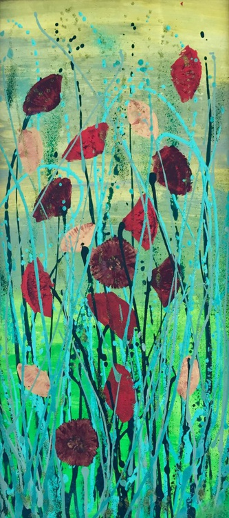 Golden poppies - Image 0