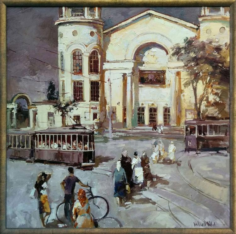Original landscape painting Simferopol - Image 0
