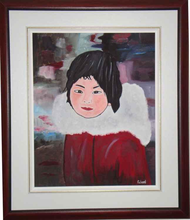 Inuit girl -