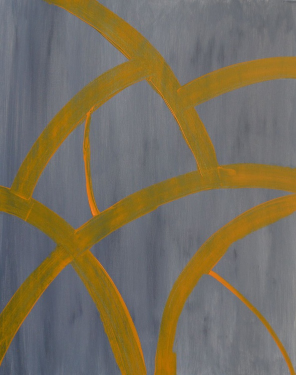 Rough road (60 * 76 cms , Ready to Hang) - Image 0