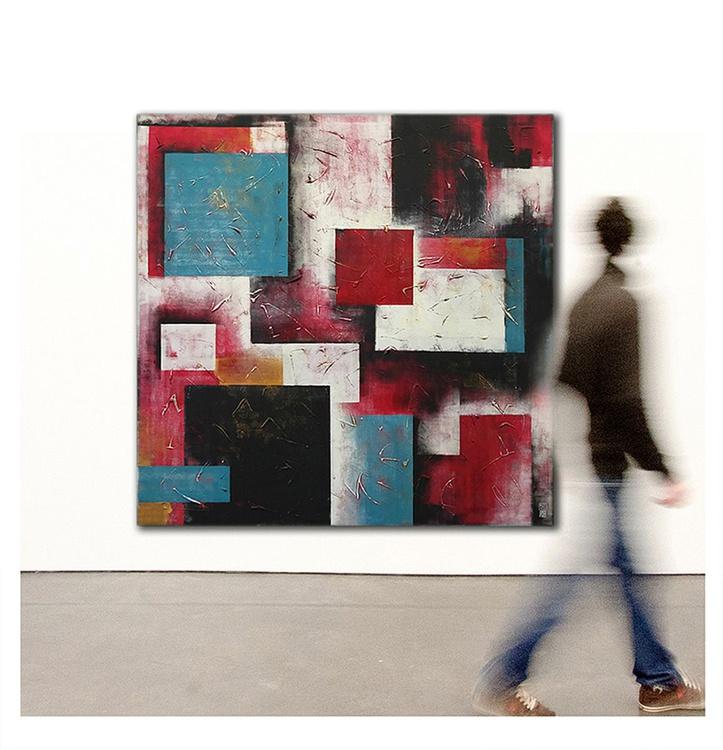 Red City Blocks - Extra Large - 91 - Image 0