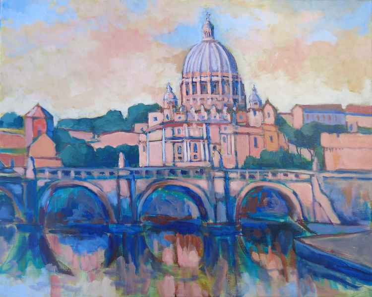 """Arrivederci Roma"" St Peter's Rome -"