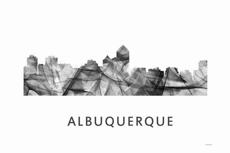 Albuquerque Skyline WB BW -