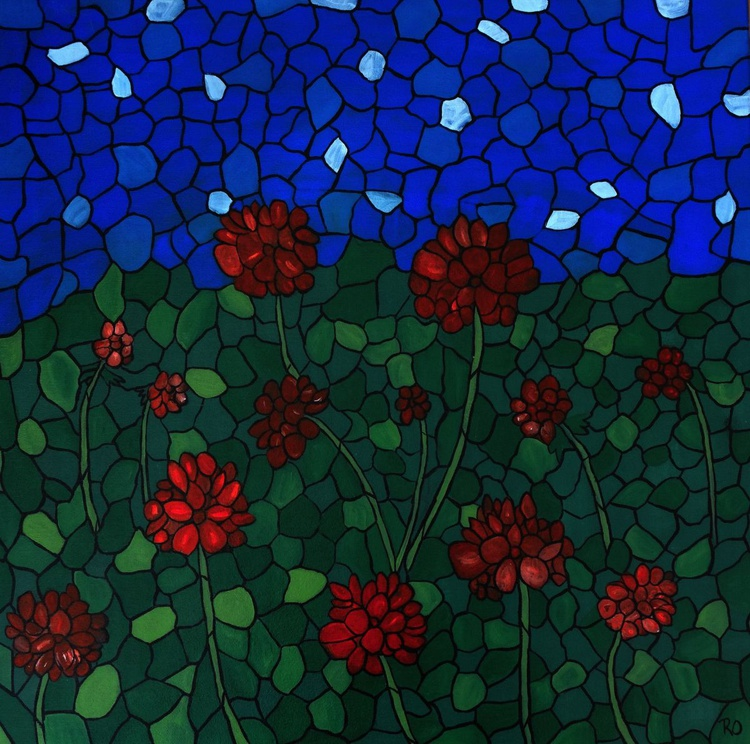 Red Geraniums - Image 0