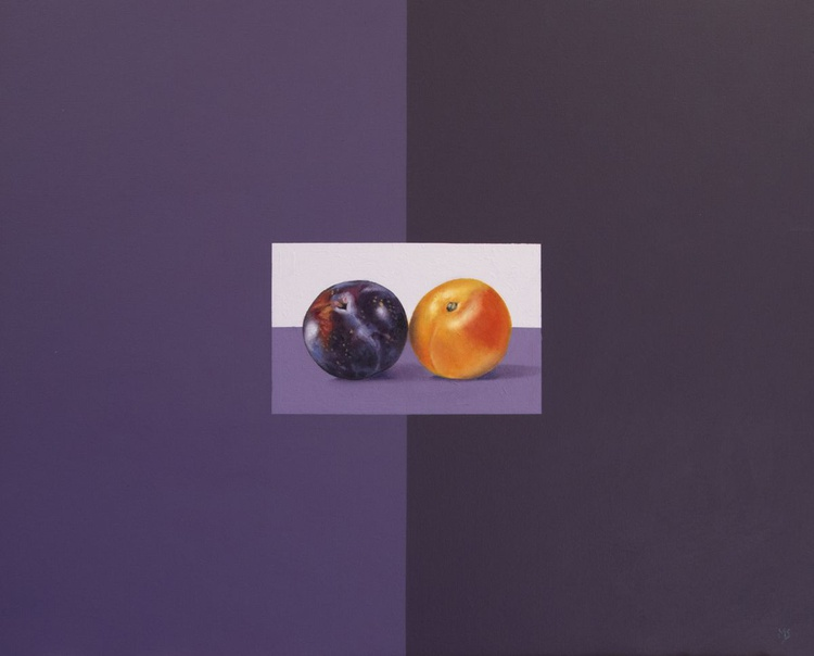 Red and yellow plums - Image 0