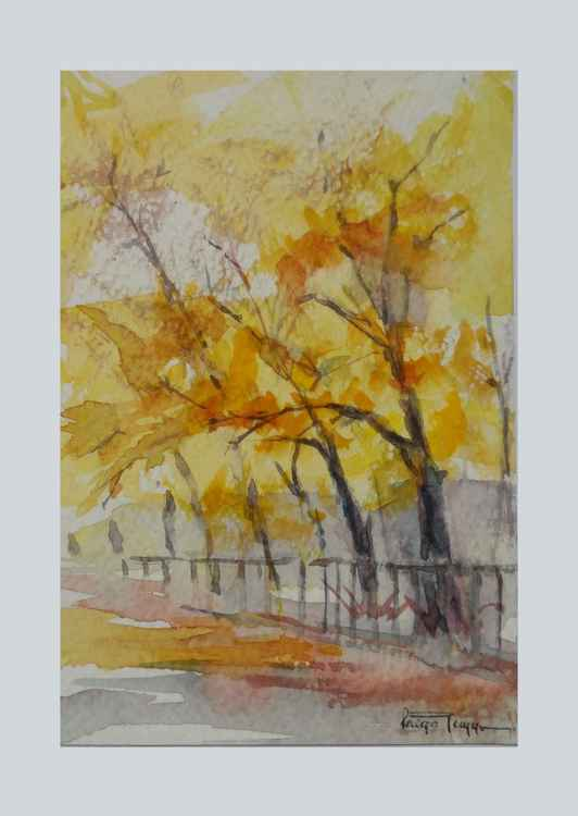 Its Autumn (Mini Painting) -
