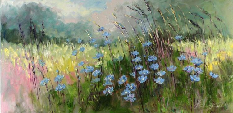 Wild cornflowers - Image 0