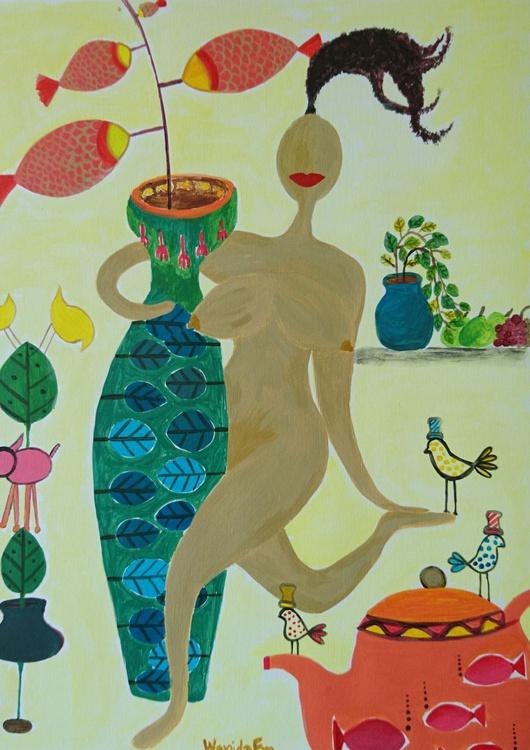 Vase Hugging - Image 0