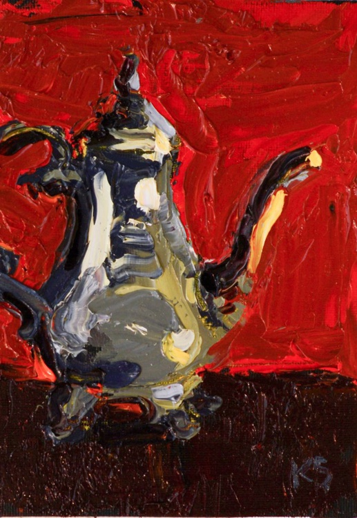 Silver Kettle - Image 0