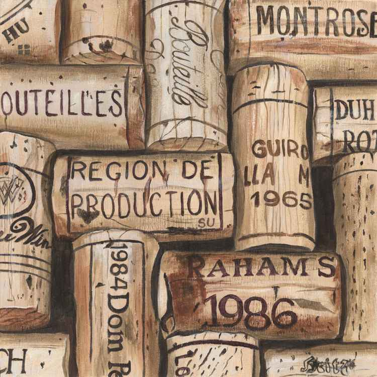 French Wine Corks -