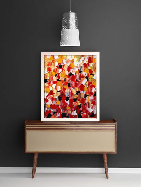 Warmth Blossoms (Ready Framed) - Image 0