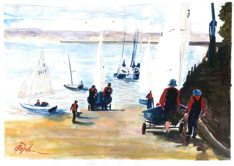 The sailing club -