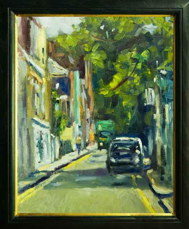 Leafy Street in South Kensington -