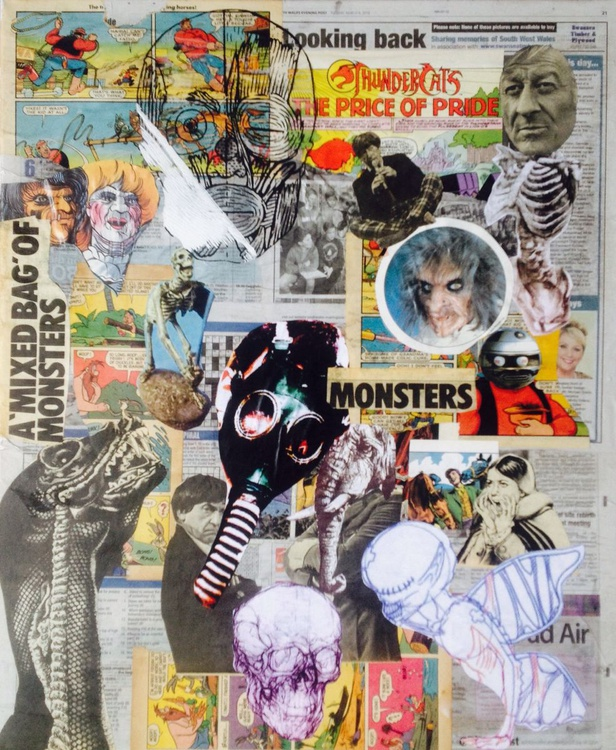 A Mixed Bag of Monsters vs Paranoid Narcissism - Image 0