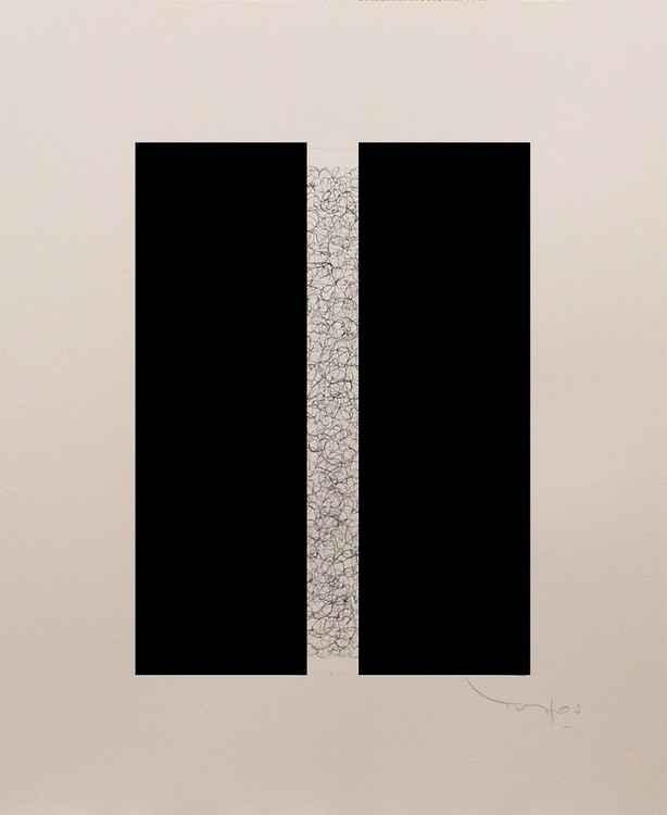 Grand carré long Bichrome 37 -