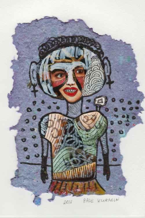 Hippie girl -