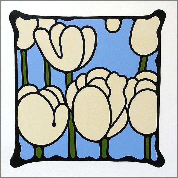 Ivory Tulips - Image 0