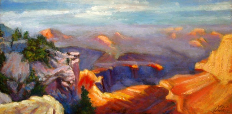 sunset at the grand canyon - Image 0