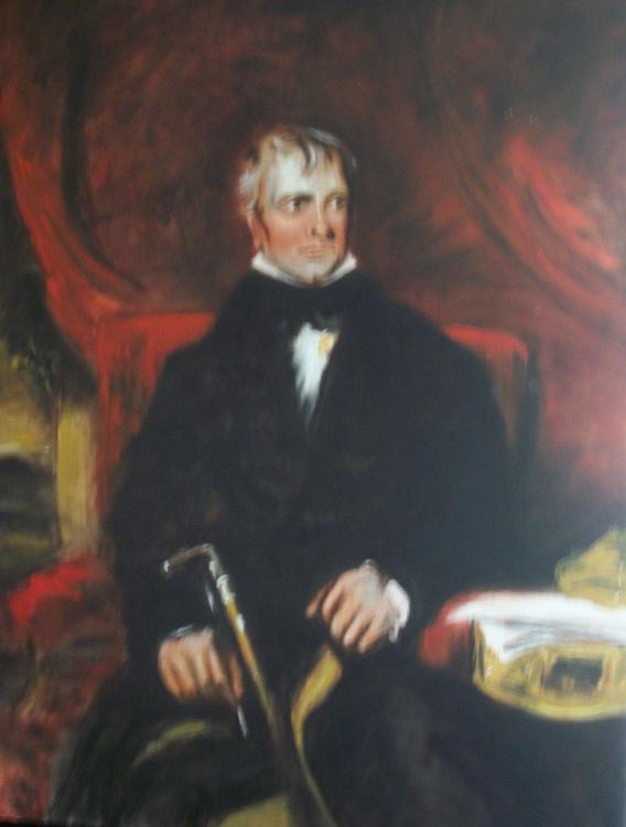 Portrait of Sir Walter Scott - Image 0