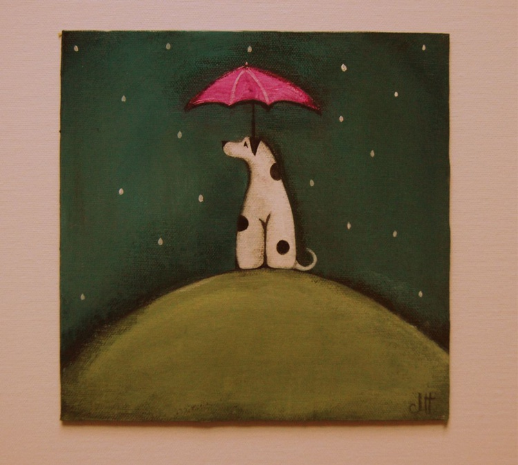 As Molly Waits for the Rain to Pass.., - Image 0