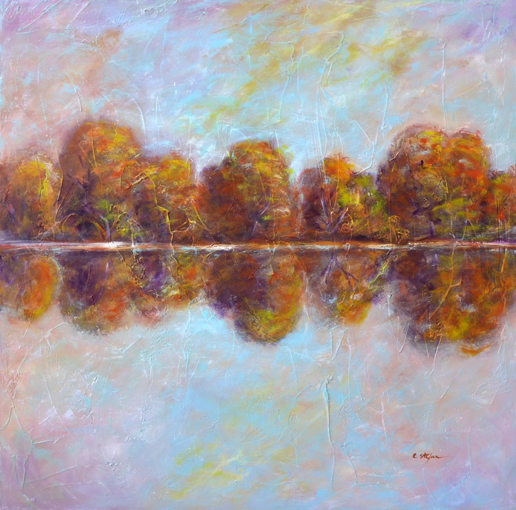 Autumn by the Lake - Image 0