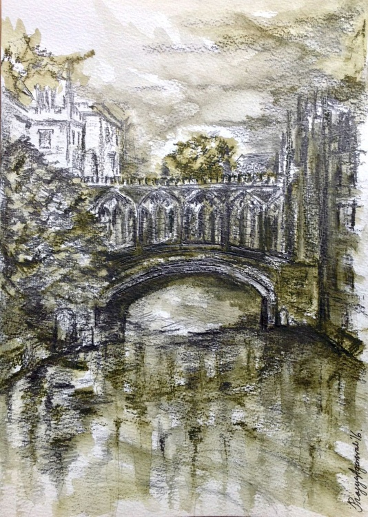 Bridge of Sighs, St Johns College, Cambridge - Image 0