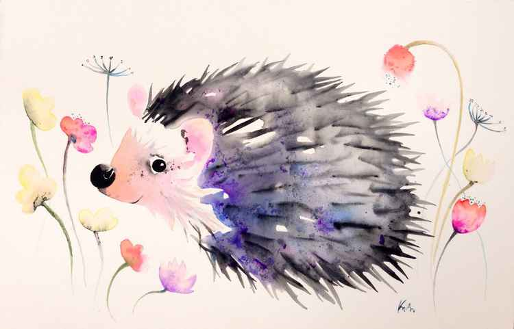 Flower hedgehog II. -