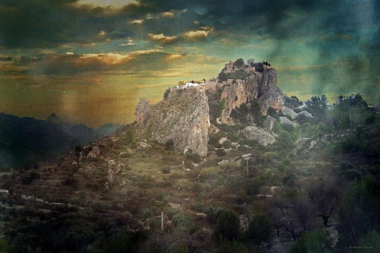 Guadalest / Spain - Canvas 75 x 50 cm - Image 0