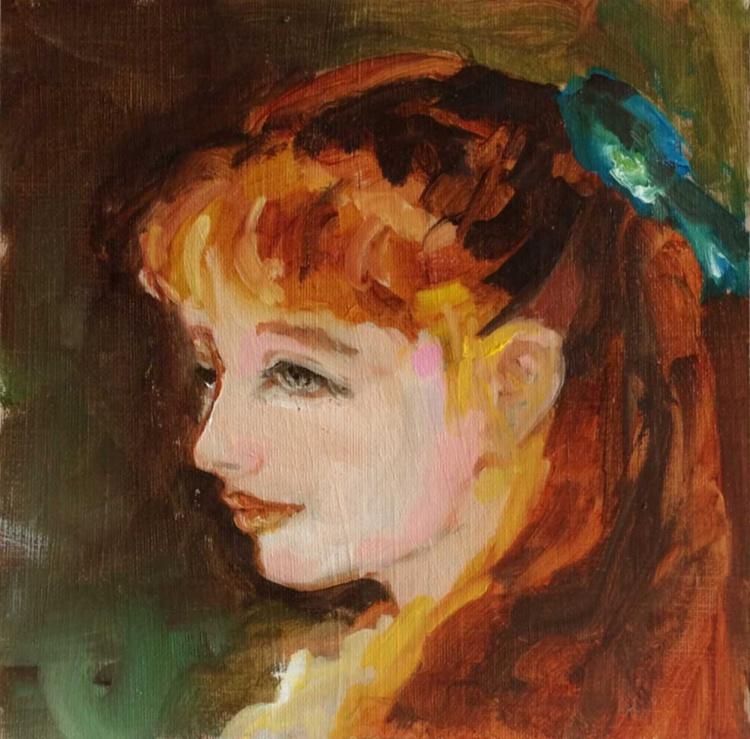 After Renoir - Mlle Irene Cahen d'Anvers - Image 0