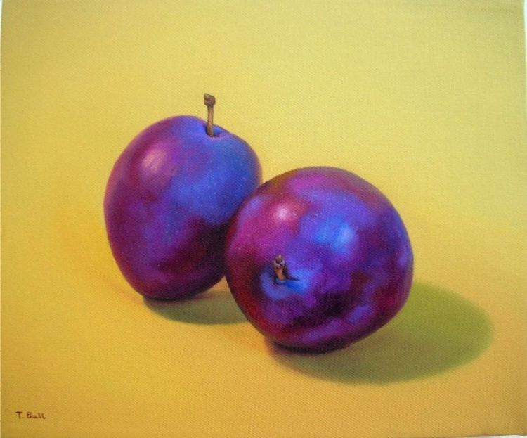 A Pair of Plums - Image 0