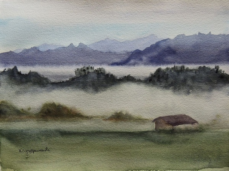 Foggy morning in Bassins - Image 0
