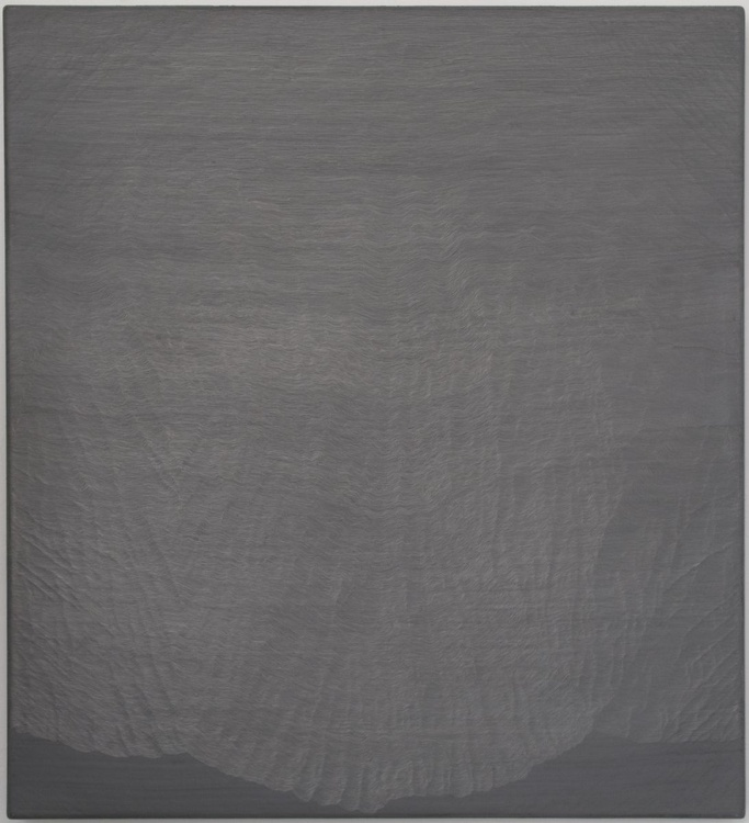 Untitled (734 Lines on Canvas) - Image 0