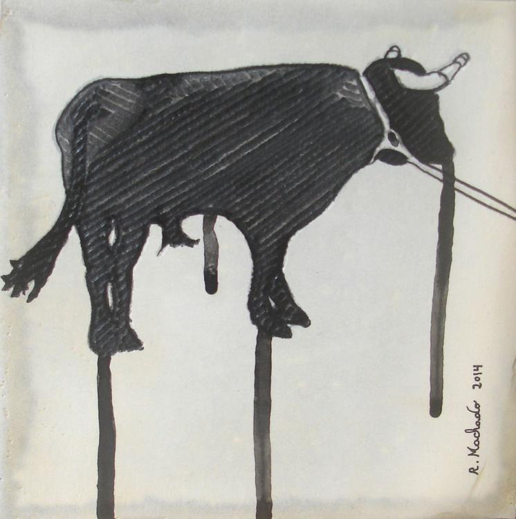 Bull Carved III - Image 0
