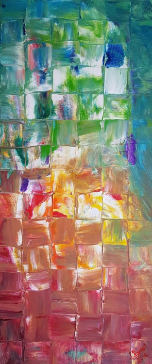 Stained (30x70cm) - Image 0