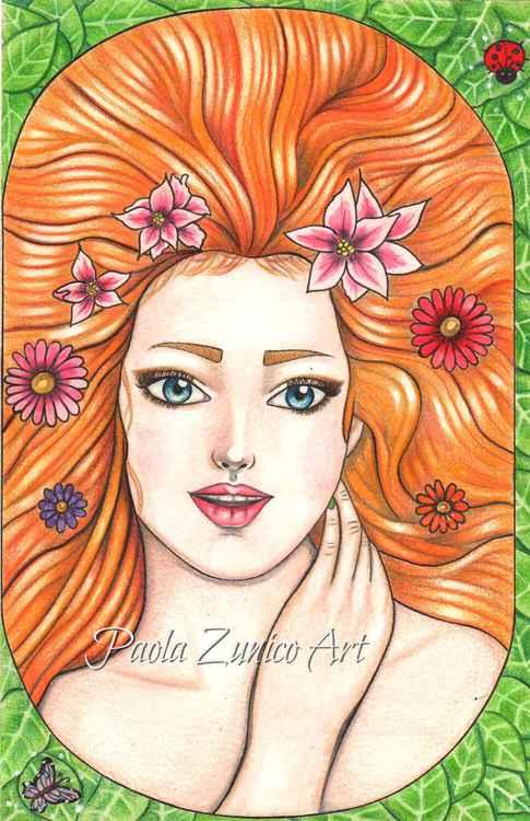 Spring Goddess -