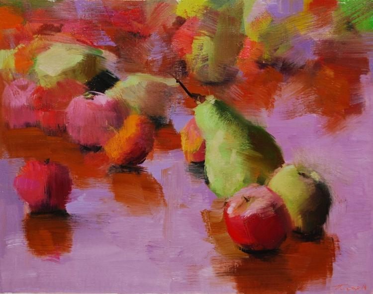 """Still life painting, """" Summer Fragrance """" - Image 0"""