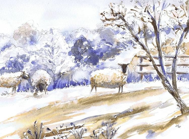 Frosty Sheep - Image 0