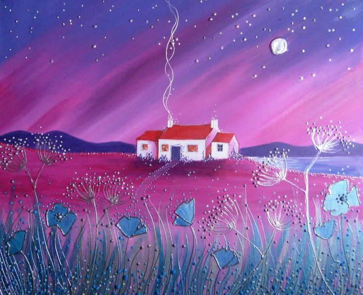 Moonlit cottage - Image 0