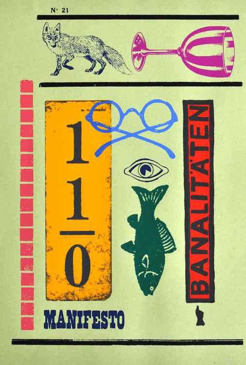 BANALITIES - dada print Nr 17