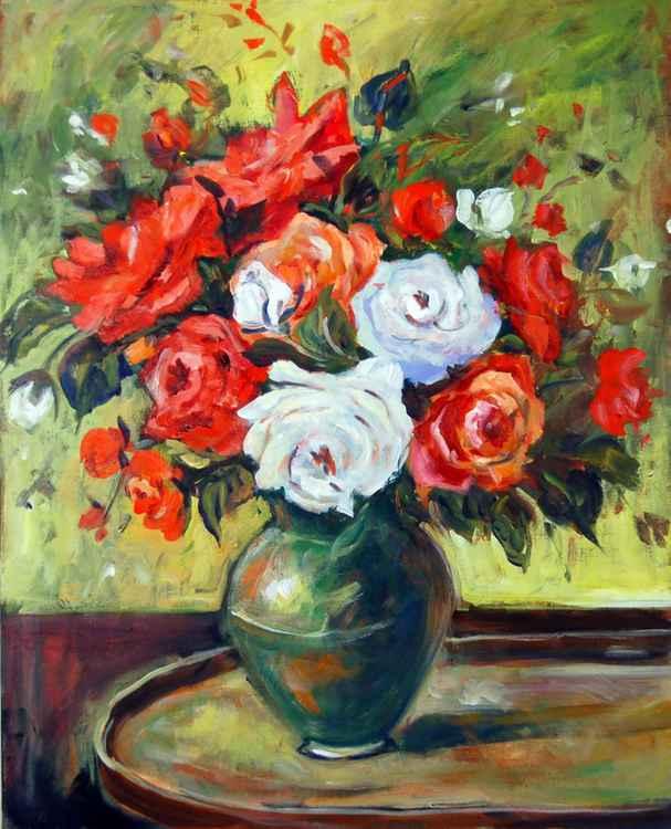 Floral Still Life 1 -