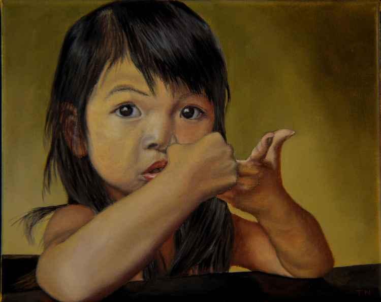 Amelie-An 9 - child portrait - little girl
