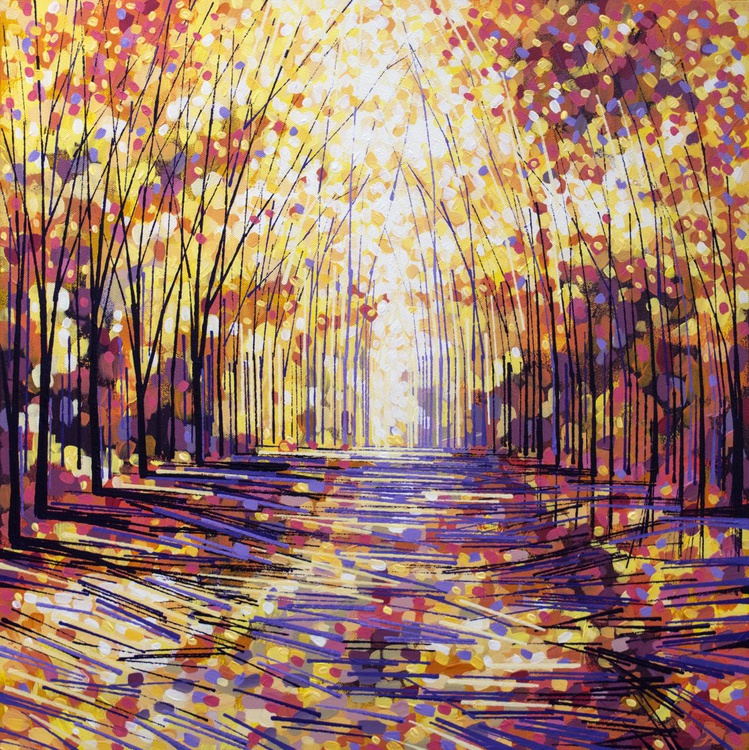 A Pathway To Autumn - Image 0