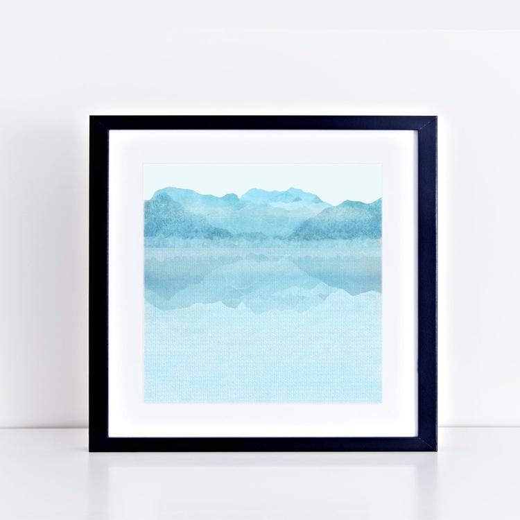 Day - misty lake - Image 0