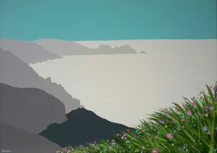 Porthcurno beach, Cornwall - Image 0
