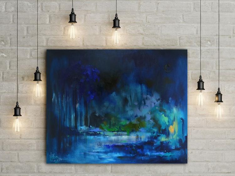 The blue night's splendor - Image 0