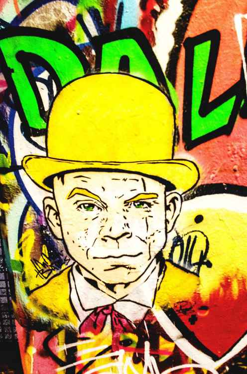 Bowler hat gentleman -